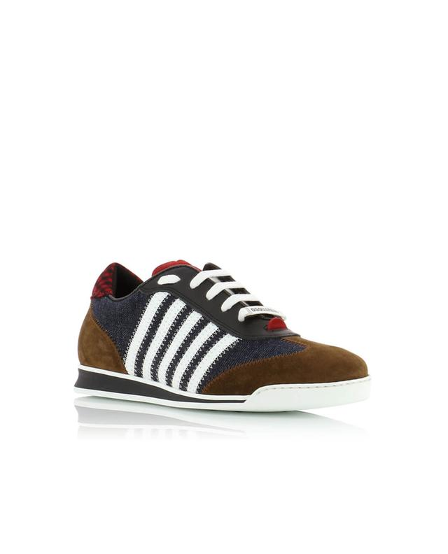 New Runners denim sneakers - Blue Dsquared2 A9IZoEFb