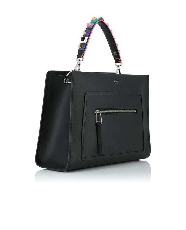 Fendi mini bandoulière à clous you noir a41410