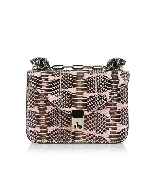 Valentino snakeskin crossbody bag lightpink a41527