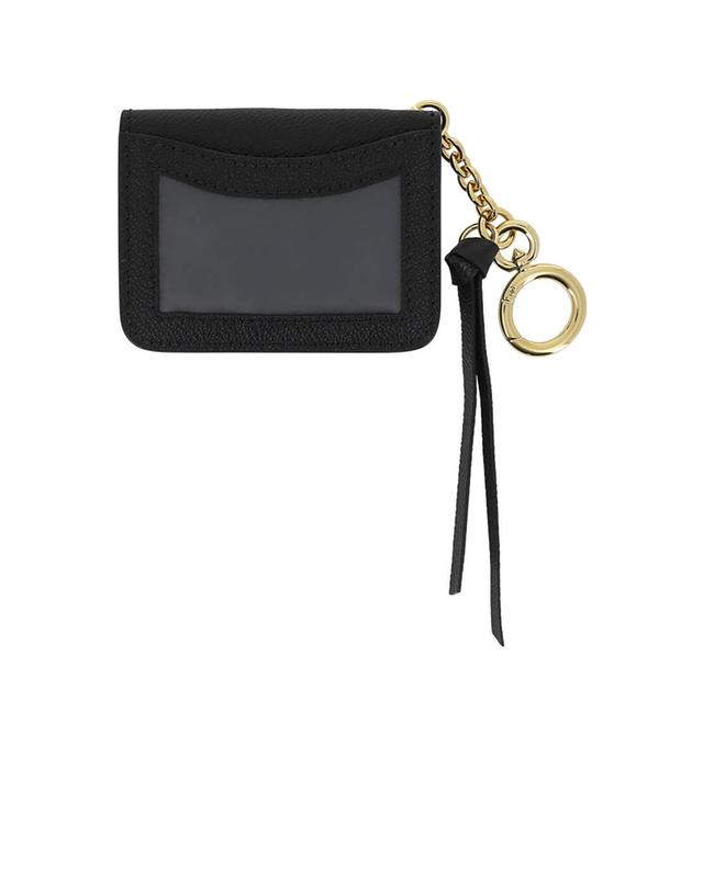 Burberry id cardholder charm black a41601