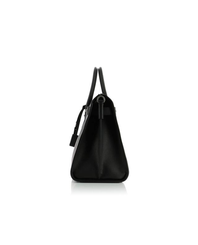 Saint laurent paris sac de jour duffle bag black a42756