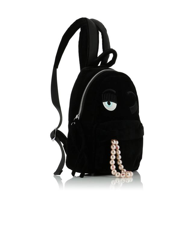 Zaino Velluto Small backpack CHIARA FERRAGNI