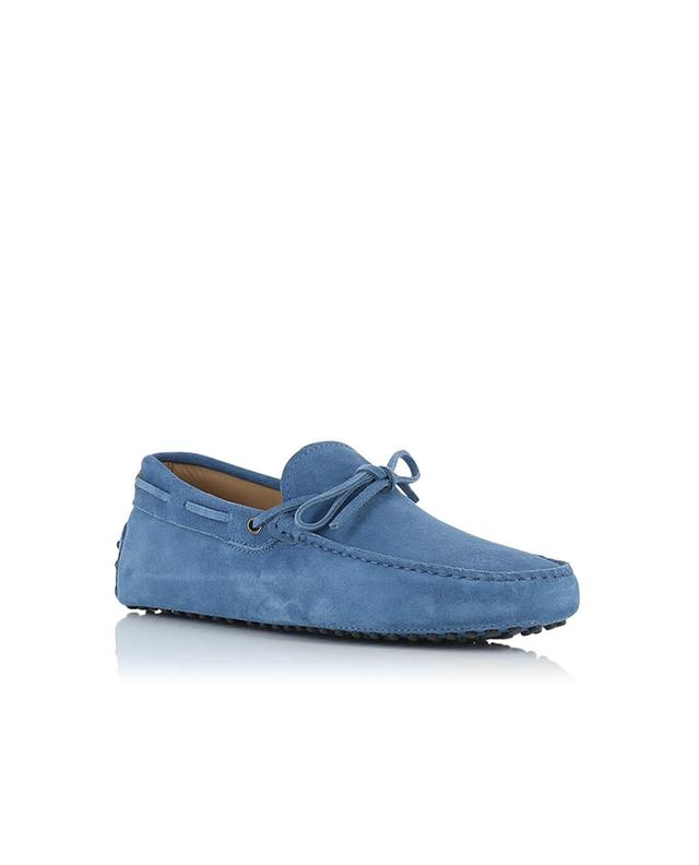 Tod's gommino suede loafers navyblue a46741