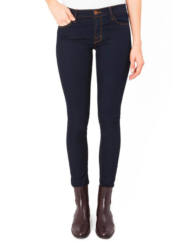J brand mid-rise skinny leg ink jeans navyblue a46882