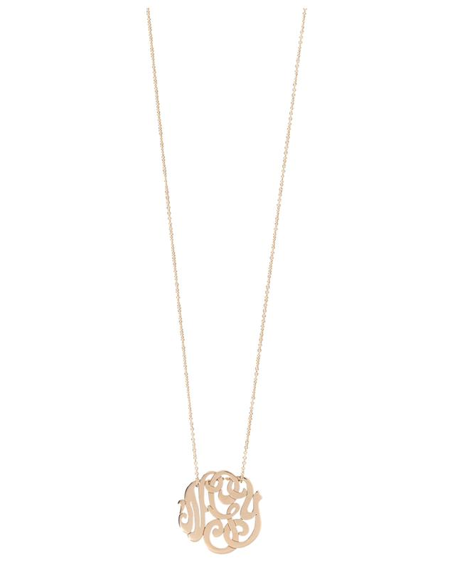 Baby Lace Monogram necklace GINETTE NY