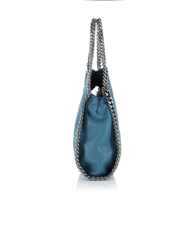 Stella mccartney falabella small faux-leather shoulder bag navyblue