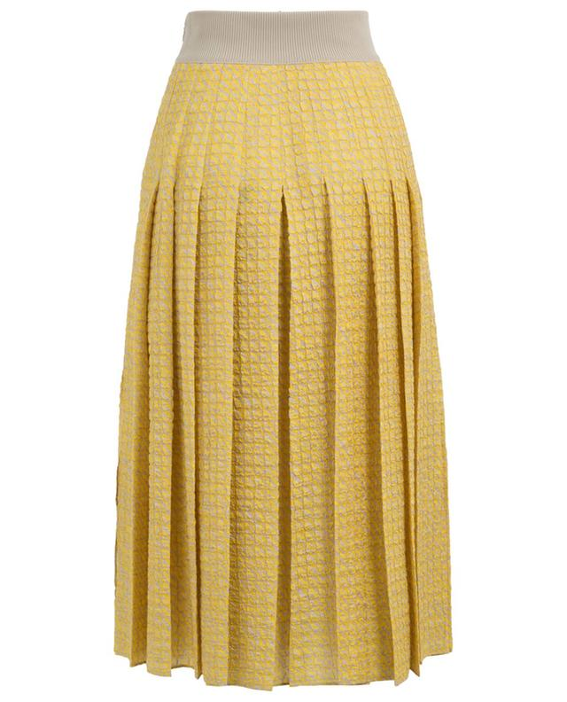 Silk blend pleated skirt FENDI