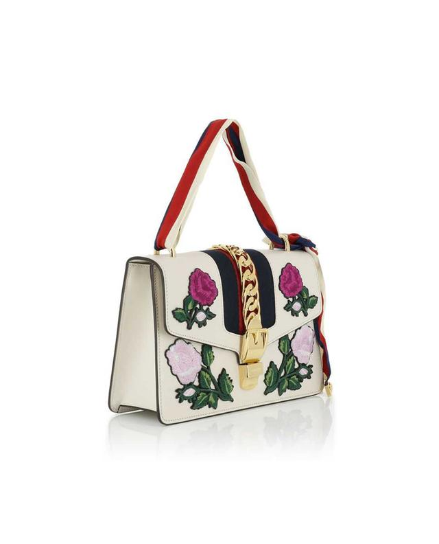 Sylvie embroidered handbag GUCCI