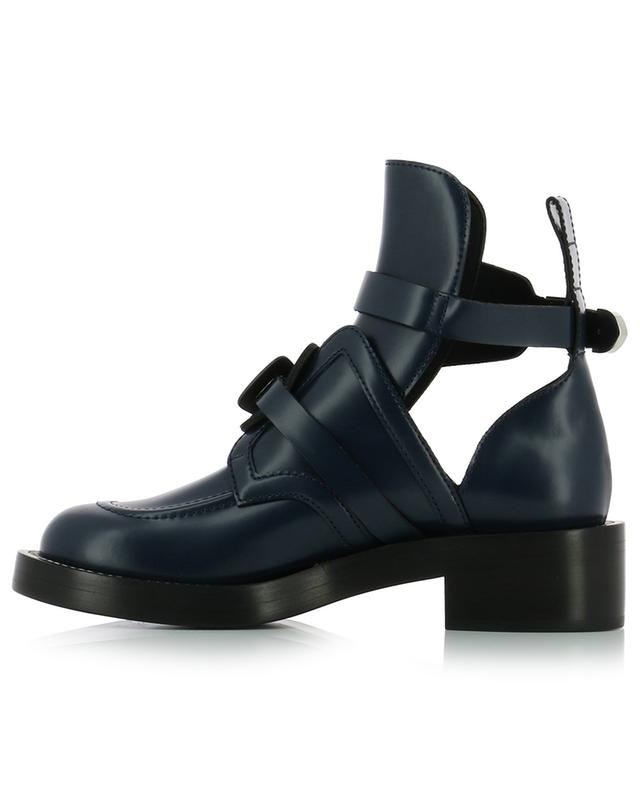 Ceinture leather ankle boots BALENCIAGA