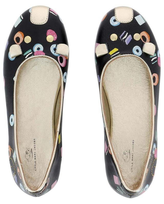 Ballerines en cuir Candy Mouse LITTLE MARC JACOBS