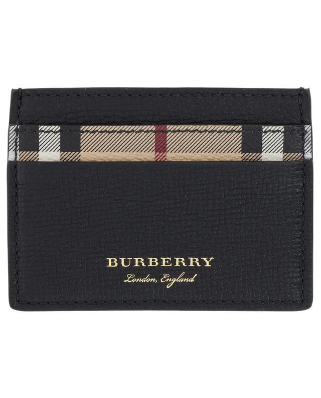 BURBERRY Sandon Haymarket Check card holder - Bongénie-Grieder