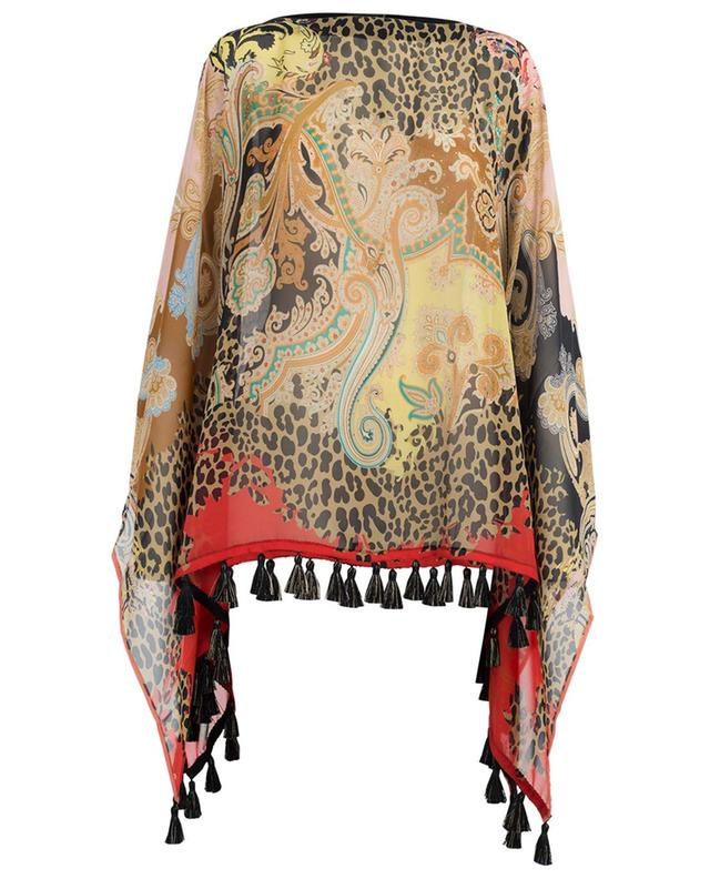 Short printed silk caftan ETRO