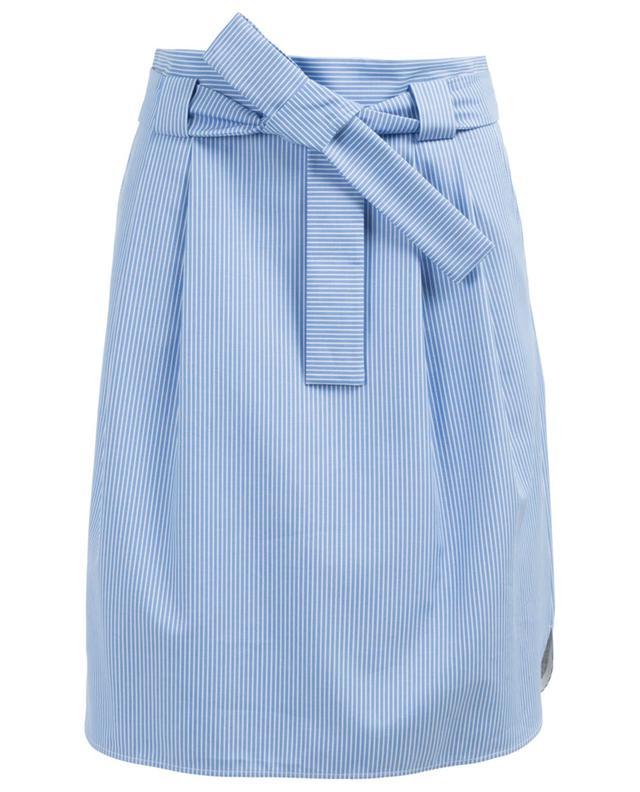 7f2ca8341241 WINDSOR Short cotton blend skirt - Bongénie-Grieder