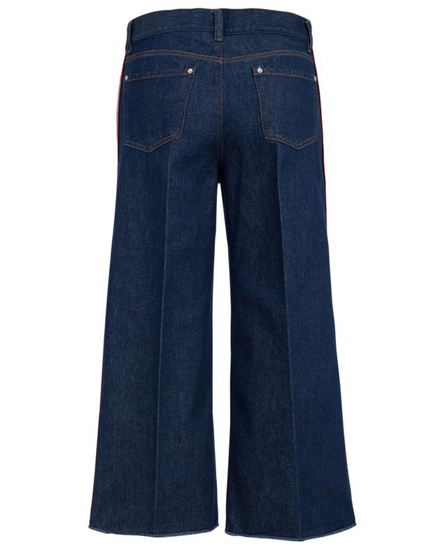 Flared cropped cotton jeans RED VALENTINO