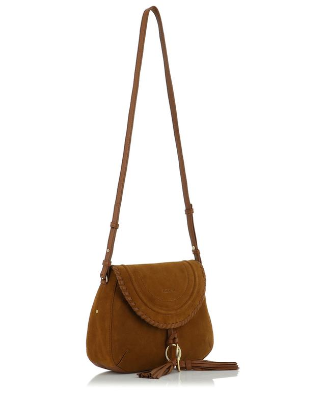 Suede and leather shoulder bag SEE BY CHLOE