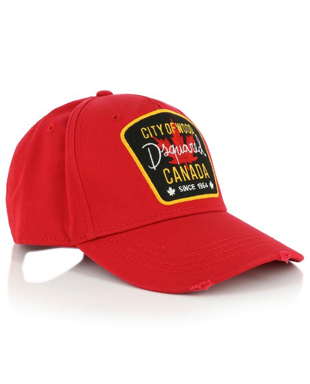 Casquette City of Wood DSQUARED2