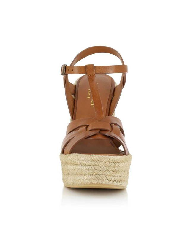 Sandales en cuir Espadrille 85Saint Laurent Ryx6O