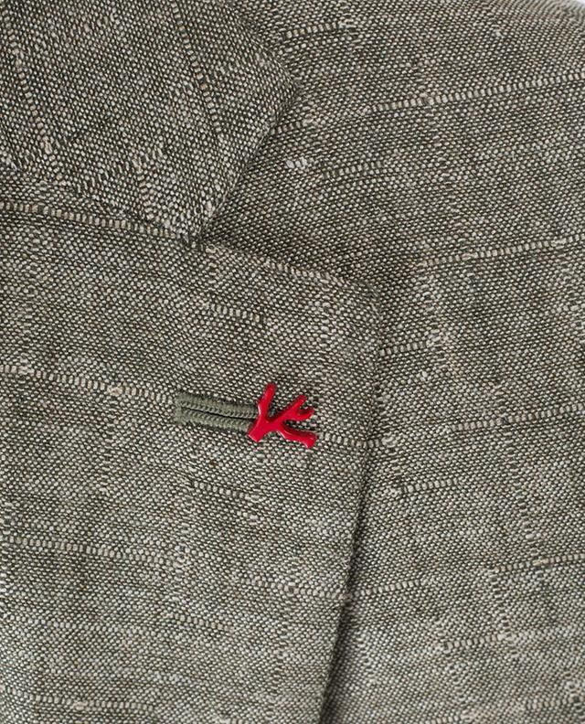 Gregory wool, silk and linen blazer ISAIA