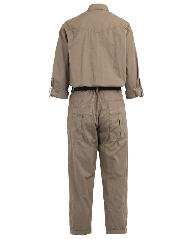Cotton jumpsuit BRUNELLO CUCINELLI