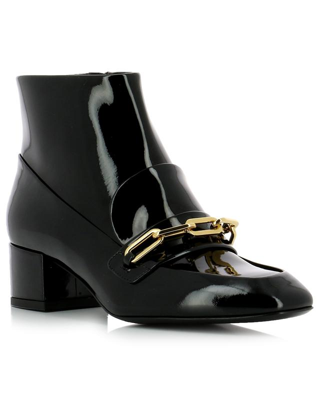 Chettle patent-leather ankle boots Burberry Ctc5I0fHd