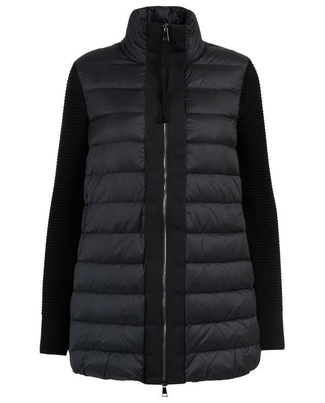 MONCLER Bi-material lightweight down jacket - Bongénie-Grieder 1c9b48de7dc