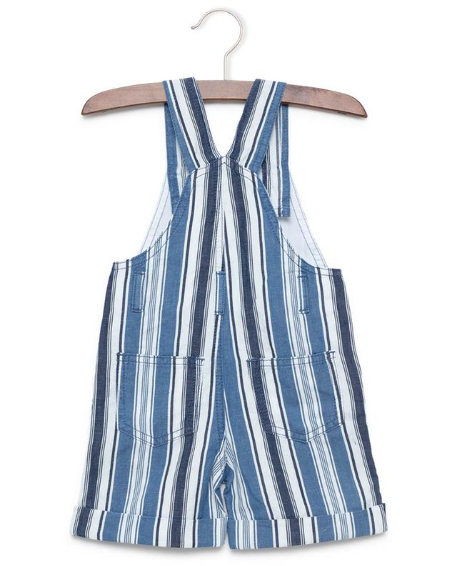 Cotton and linen blend dungarees IL GUFO