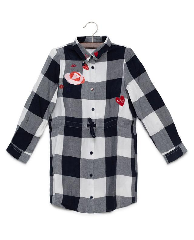 Viscose shirt dress IKKS JUNIOR