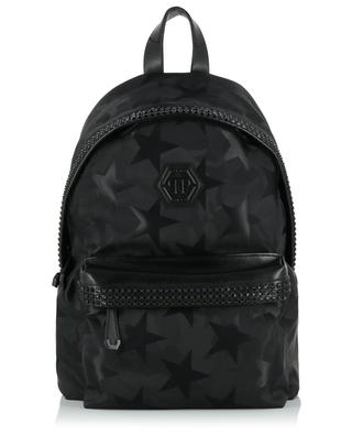 People You Leve fabric and faux leather backpack PHILIPP PLEIN
