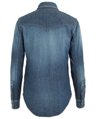 Chemise en jean SAINT LAURENT PARIS