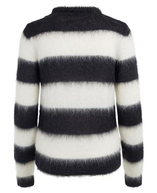 Striped mohair blend jumper SAINT LAURENT PARIS