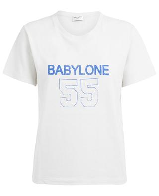 Babylone distressed T-shirt SAINT LAURENT PARIS