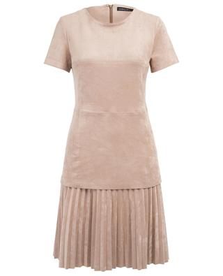 Short faux suede dress MARC CAIN