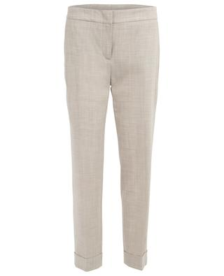 Virgin wool tapered leg trousers LORENA ANTONIAZZI