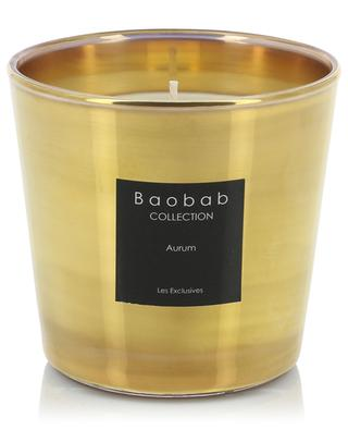 Bougie parfumée Aurum Max One BAOBAB