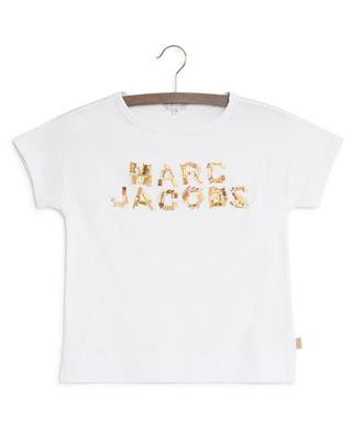 T-shirt siglé à perles LITTLE MARC JACOBS