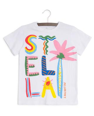 T-shirt imprimé Stella Logo Palm STELLA MCCARTNEY