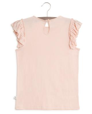T-shirt en coton volants manches STELLA MCCARTNEY