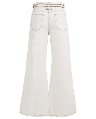 High-rise wide leg jeans GANNI