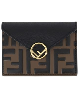 FF leather card-holder FENDI
