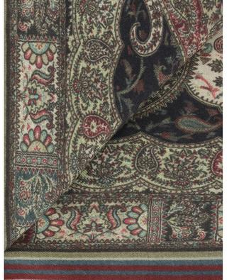 Paisley print cashmere and silk shawl ETRO