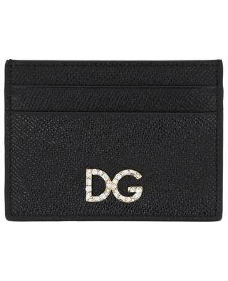 Leather credit card holder DOLCE & GABBANA