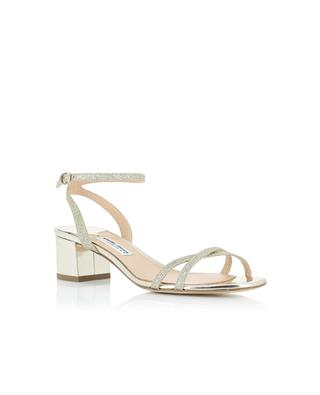 High-heeled glitter leather sandals BON GENIE GRIEDER