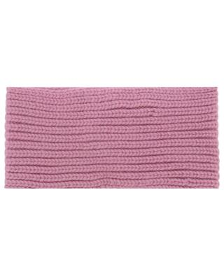 Cecile cable detail cashmere headband WARM ME