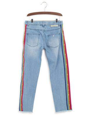 Jean avec bandes arc-en-ciel STELLA MCCARTNEY KIDS