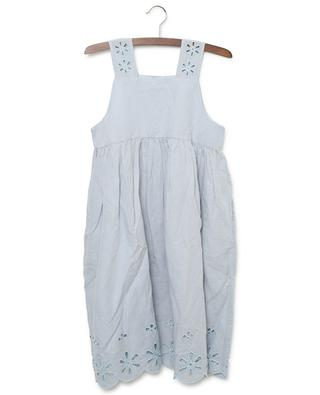 Broderie anglaise linen and cotton dress STELLA MCCARTNEY KIDS
