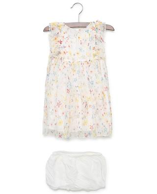 Robe en soie fleurie Splash Flowers STELLA MCCARTNEY KIDS