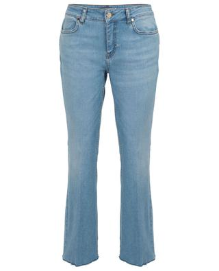 Salsa cotton blend cropped bootcut jeans IBLUES