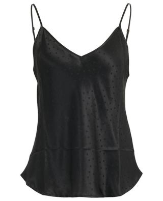 Secret flowy camisole with polka dots MES DEMOISELLES