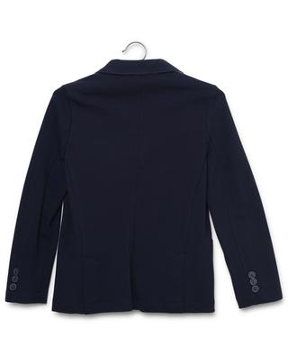 Piqué cotton blazer jacket IL GUFO