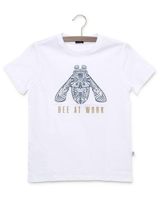 Bee At Work printed jersey T-shirt IL GUFO